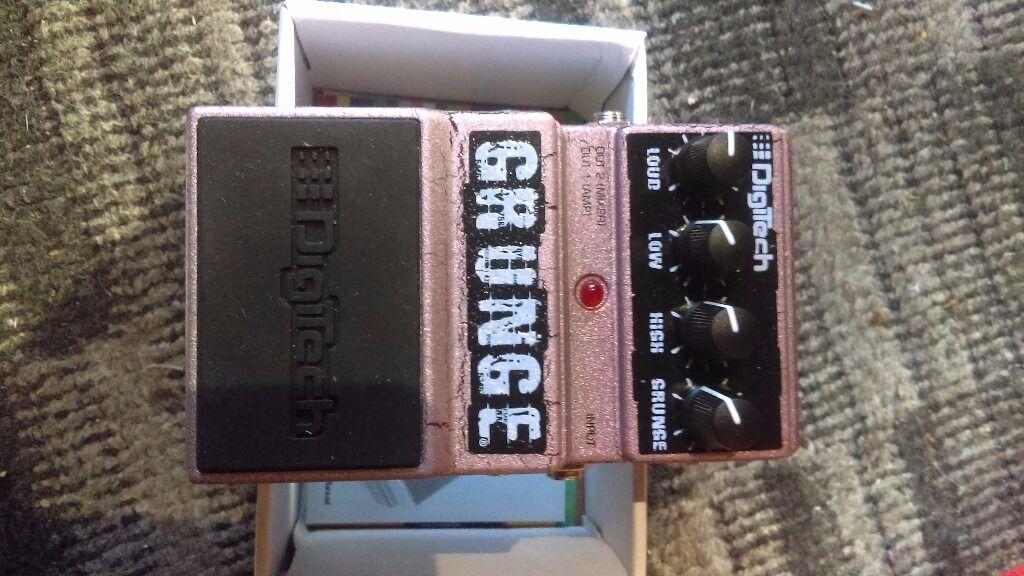 Digitech distortion pedal
