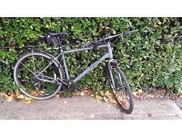 Mens Bicycle - Pinnacle Lithium 1 2016 Hybrid Bike - With UPGRADED tyres
