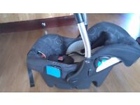 Silvercross Linear travel system buggy and car seat from birth £50 ono, can delilver