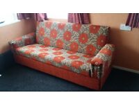 BRAND NEW 2 X BED SOFAS WITH STORAGE