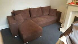 PEARL Corner Sofa Bed Left Or Right Handed *Brand NEW* 350