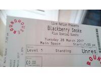 Blackberry Smoke Roundhouse Ticket