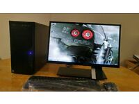 SSD Custom PC New Business PC Desktop Tower & Acer 23