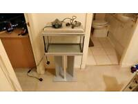30 litre fish tank and stand