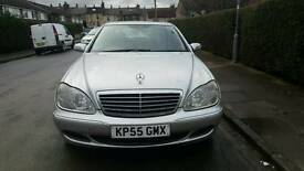 55-2005 MERCEDES S CLASS DIESEL FULL SERVICE HISTORY EXCELLENT CONDITION DRIVE SUPERB HPI CLEAR