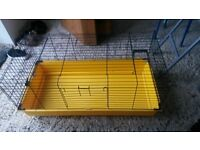 guinea pig rabbit small animal cage