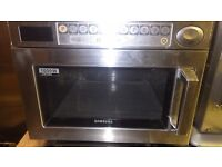 Samsung CM1029 1000w Commercial microwave Just serviced.Other catering items for sale