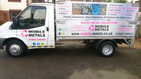 SCRAP METAL COLLECTION IN PORTSMOUTH & HAMPSHIRE,SCRAP CARS WANTED & SCRAP YARD -MOBILE METALS