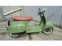 Neco vintage scooter 125cc