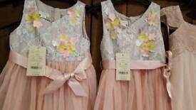 Bramd new Monsoon flowergirl/party dresses