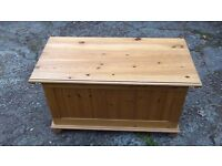 Pine wooden Storage chest/box ***Can deliver***
