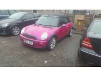 MINI CONVERTABLE ( PINK )