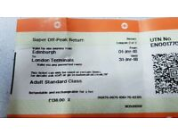 Ticket Edinburgh to London