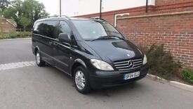 Mercedes vito 9 SEATER Long Wheel Based manual 111 cdi 2004/04 Diesel £3950!!!