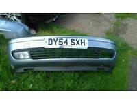 Vauxhall Zafira front bumper and back bumper