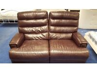 3 Piece Reclining Sofa and Armchair Set