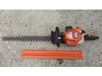 Echo professional heavy duty hedge cutter large blades nice condition