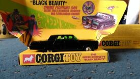 Corgi Black Beauty 1970's car