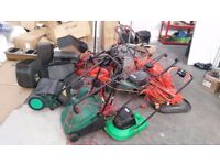 Various Brands Of lawnmower £5 per each