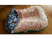 Toddlepod poddlepod baby seat bed. Feltham