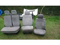 Vw T4 Single driver, passenger and double passenger seats