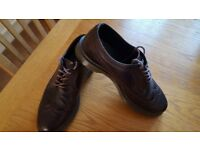 Dr Martens Brown Leather Brogues Size 7