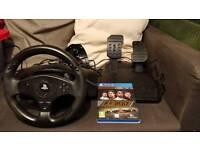 Thrustmaster T80 steering wheel