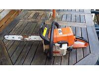 Stihl 021 petrol chainsaw