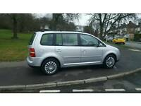 2004 VW TOURAN 7 SEATER 1.6 PETROL AUTOMATIC