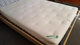 Alpha beds Whitecroft double mattress - natural fillings
