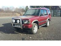 LANDROVER DISCOVEREY TD5 ES 7 SEATER STUNNING YEARS MOT ,TOYOTA,VOLVO,FORD,SUSUKI,