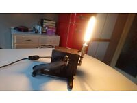 ANTIQUE INDUSTRIAL CARTER MACHINE FOOT CONTROL PEDAL SWITCH LAMP ORIG FITTINGS FAB DISPLAY DECOR VGC