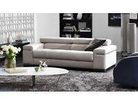 Natuzzi Avana Two seater Sofa and Footstool set