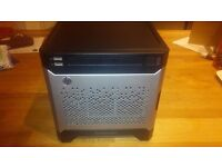 HP Proliant Microserver Gen8 with ILO Key, Dual Core 2.3GHz and 4GB RAM (2x2GB). Ideal as a NAS.