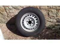 Mercedes Sprinter 6 Stud Wheel and Tyre For Sale - £45