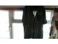 new mens green check shirt size 3xl