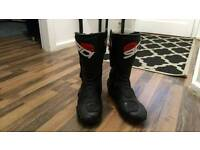 Sidi Roarr Armoured motorcycle boots black size 10-45