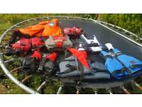 Lifejackets/buoyancy aids x 8