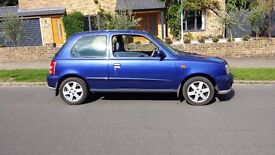 Nissan Micra 1.0 2002 02 Reg Elderly lady Owner from new Low Miles £595