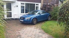 Audi TT 225 to be sold as spares and or repair, the car is functional, abs sensor need replacing