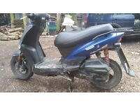 Kymco agility 125 62 plate