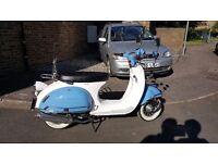 AJS Modena 50cc motor scooter