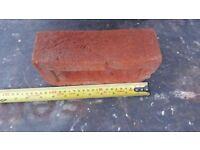 Bricks soft red facing