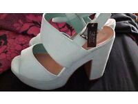 Size 4 wide fit heels