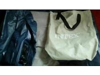 Intex deluxe single bed electric inflate and deflate