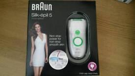 Braun Silk epil 5780 Brand new unboxed