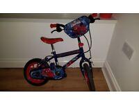Spiderman bike excellent condition