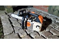 Stihl ms200T chainsaw