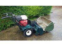 Hayter Condor Cylinder Mower Honda Engine c/w Grass Collector