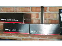 ARCO SATETY FOOTWEAR SIZE 8 BRAND NEW £30 FOR THE 3 PAIRS